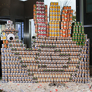 Canstruction Best Meal