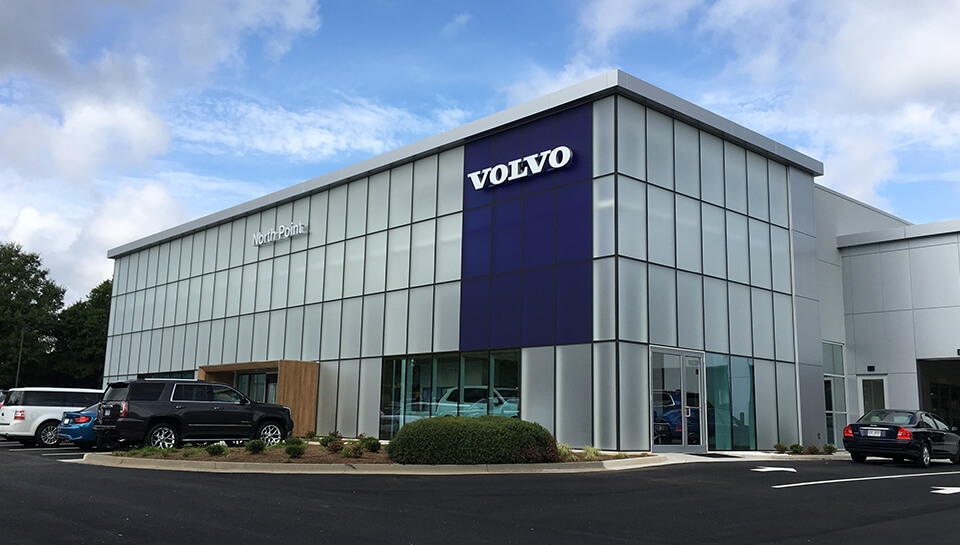 North Point Volvo Cars – PRAXIS3