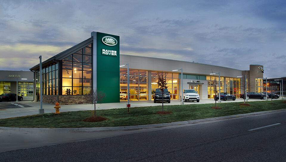 Plaza Jaguar Land Rover St Louis Praxis3