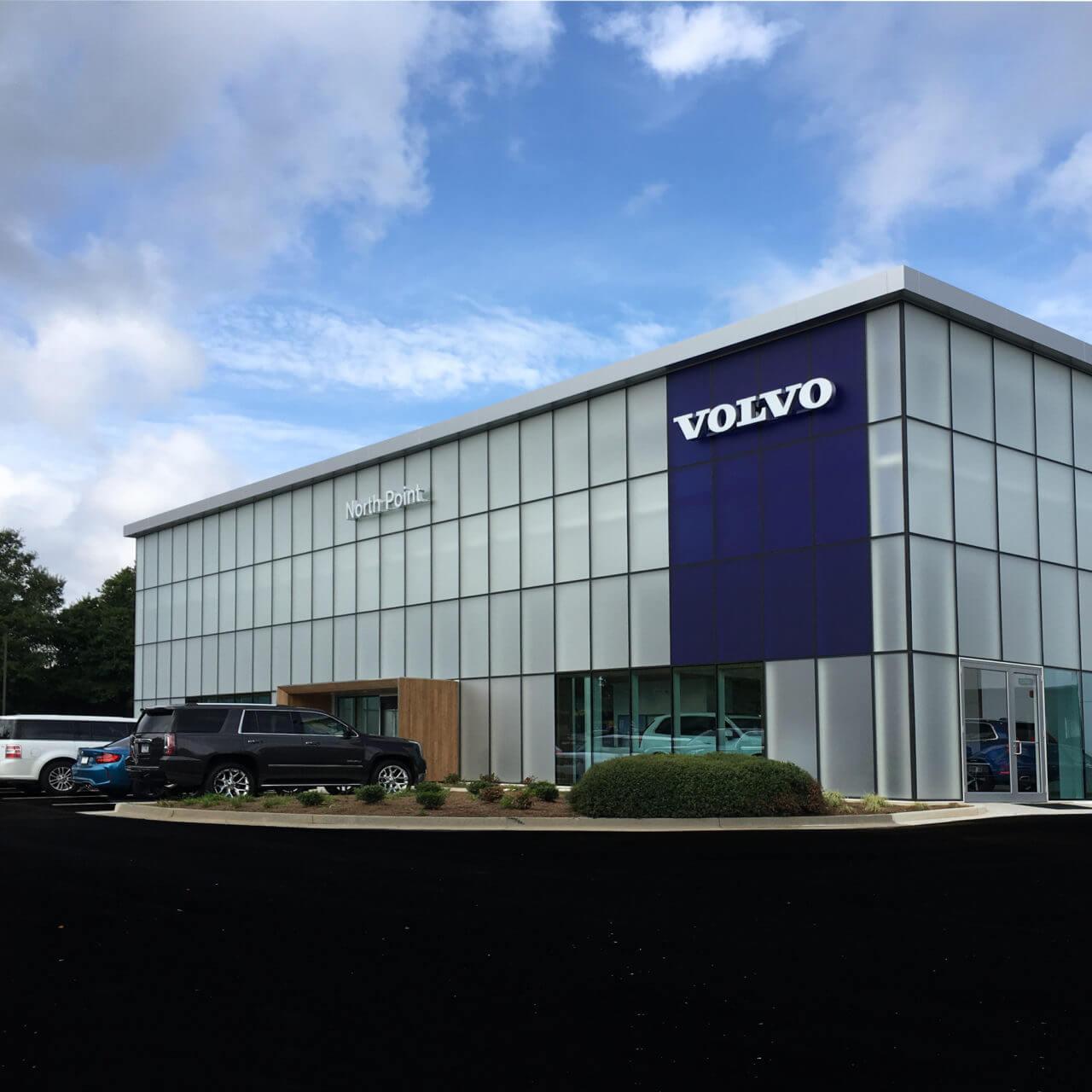 North Point Volvo Alpharetta Georgia: Architecture