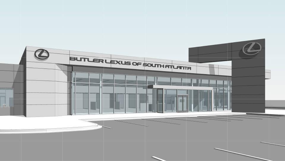 Lexus Of South Atlanta >> Architecture Praxis3